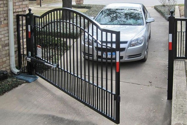 SINGLE-LEAVE-SWING-AUTOMATIC-GATE